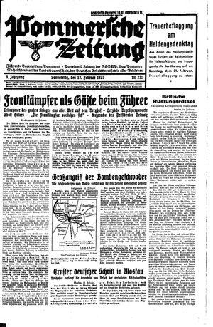 Pommersche Zeitung vom 18.02.1937
