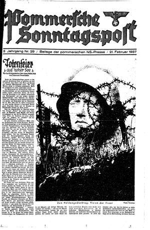 Pommersche Zeitung vom 21.02.1937