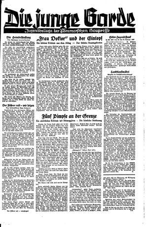 Pommersche Zeitung vom 22.02.1937