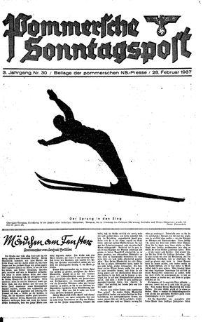 Pommersche Zeitung vom 28.02.1937