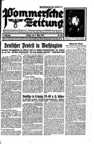 Pommersche Zeitung vom 05.03.1937