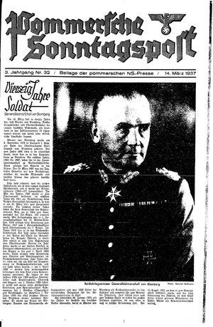 Pommersche Zeitung vom 14.03.1937