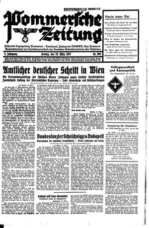 Pommersche Zeitung vom 19.03.1937
