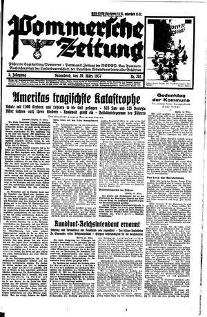 Pommersche Zeitung vom 20.03.1937