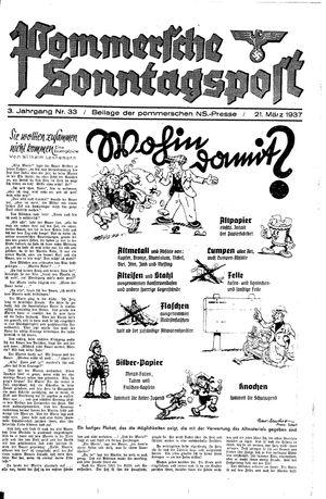 Pommersche Zeitung vom 21.03.1937