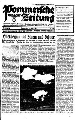 Pommersche Zeitung vom 28.03.1937