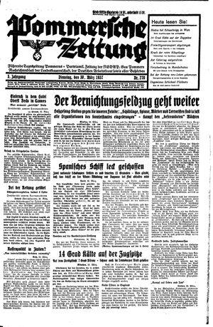 Pommersche Zeitung vom 30.03.1937