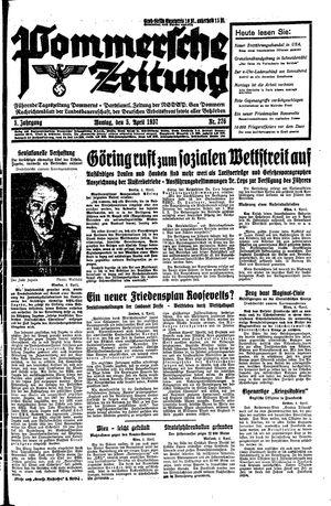 Pommersche Zeitung vom 05.04.1937