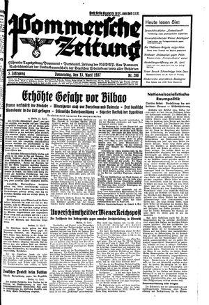 Pommersche Zeitung vom 15.04.1937