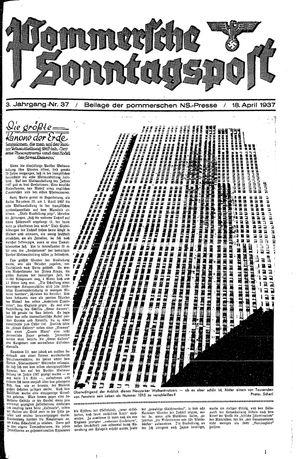 Pommersche Zeitung on Apr 18, 1937