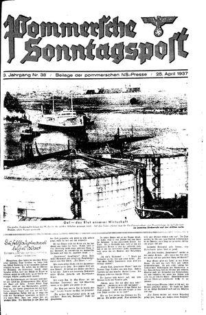 Pommersche Zeitung vom 25.04.1937