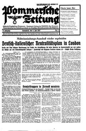Pommersche Zeitung vom 03.07.1937