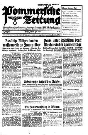 Pommersche Zeitung vom 05.07.1937