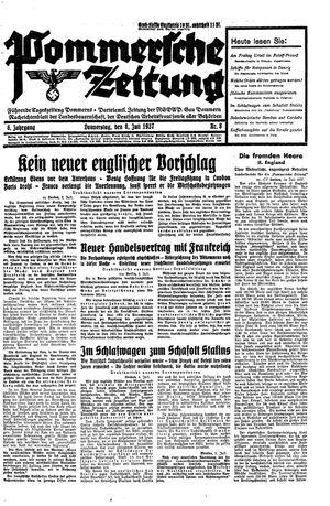 Pommersche Zeitung vom 08.07.1937