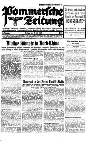 Pommersche Zeitung vom 09.07.1937