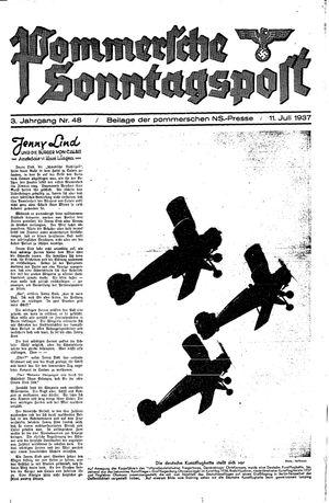 Pommersche Zeitung vom 11.07.1937