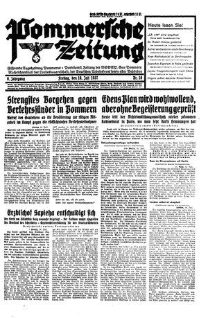 Pommersche Zeitung vom 16.07.1937
