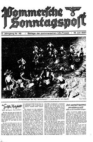 Pommersche Zeitung vom 18.07.1937