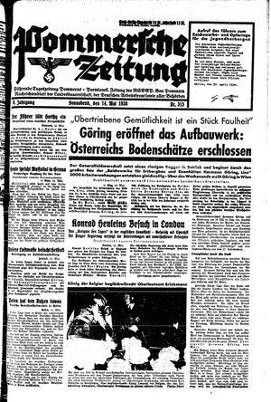 Pommersche Zeitung vom 14.05.1938