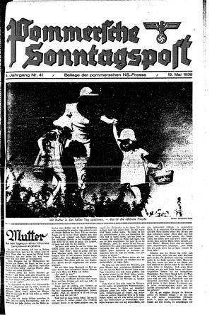 Pommersche Zeitung on May 15, 1938