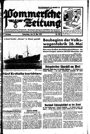 Pommersche Zeitung vom 19.05.1938