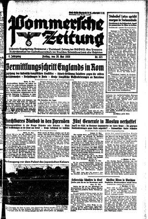 Pommersche Zeitung vom 20.05.1938