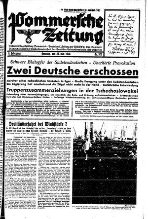 Pommersche Zeitung vom 22.05.1938