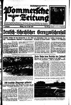 Pommersche Zeitung vom 23.05.1938