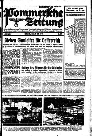 Pommersche Zeitung vom 25.05.1938