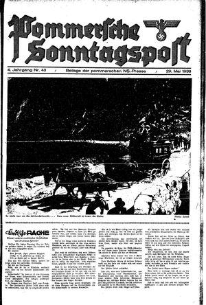 Pommersche Zeitung vom 29.05.1938