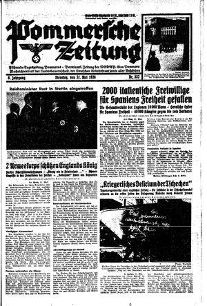 Pommersche Zeitung vom 31.05.1938