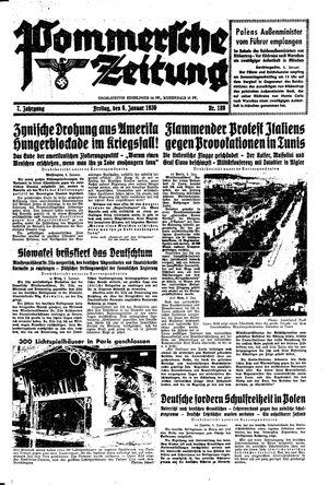 Pommersche Zeitung vom 06.01.1939