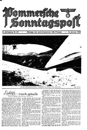 Pommersche Zeitung vom 08.01.1939