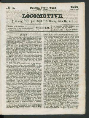 Locomotive vom 04.04.1848