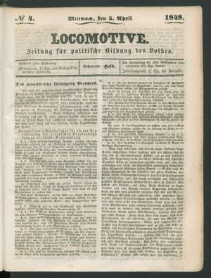 Locomotive vom 05.04.1848