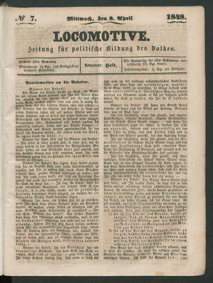 Locomotive on Apr 8, 1848