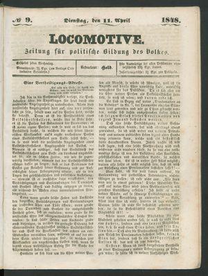 Locomotive vom 11.04.1848