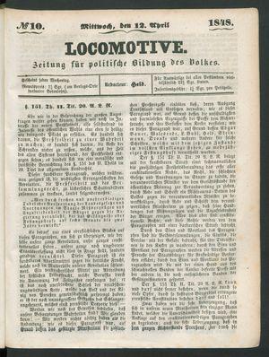 Locomotive vom 12.04.1848