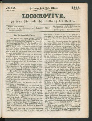 Locomotive vom 14.04.1848
