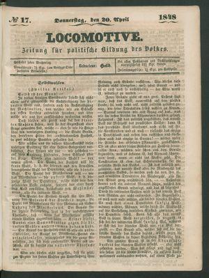 Locomotive vom 20.04.1848
