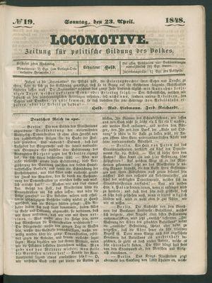 Locomotive vom 23.04.1848