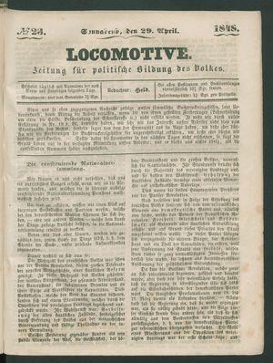 Locomotive vom 29.04.1848