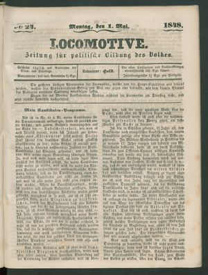 Locomotive vom 01.05.1848