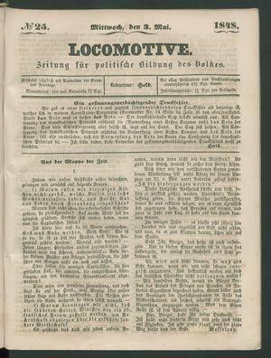 Locomotive vom 03.05.1848
