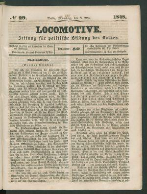 Locomotive vom 08.05.1848
