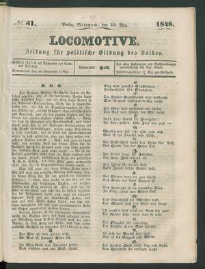 Locomotive vom 10.05.1848