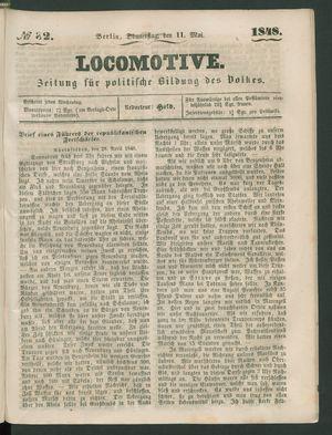 Locomotive vom 11.05.1848