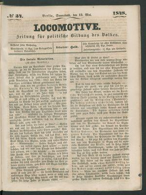Locomotive vom 13.05.1848
