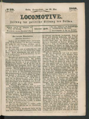 Locomotive vom 20.05.1848