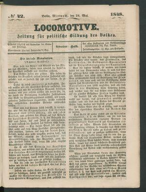 Locomotive vom 24.05.1848